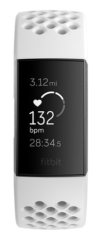 Fitbit Charge 3 Special Edition Graphite / White Main Image