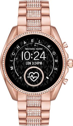 Michael Kors Access Bradshaw Gen 5 MKT5089 - Rosé Goud met Diamantjes Main Image