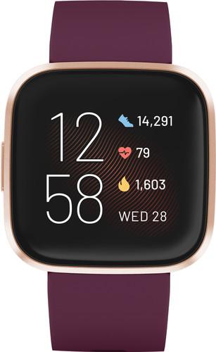 Fitbit Versa 2 Bordeauxrood Main Image
