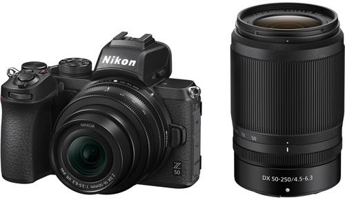 Nikon Z50 + 16-50mm f/3.5-6.3 VR + 50-250mm f/4.5-6.3 VR Main Image