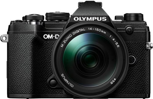 Olympus OM-D E-M5 III Body Zwart + 14-150mm f/4.0-5.6 II Zwart Main Image