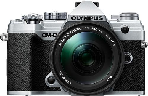 Olympus OM-D E-M5 III Body Zilver + 14-150mm f/4.0-5.6 II Zwart Main Image