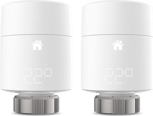 Tado Thermostat connecté V3 + kit de démarrage et 3 têtes thermostatiques détail