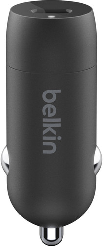 Belkin Autolader zonder Kabel Usb C 18W Power Delivery 3.0 Zwart Main Image