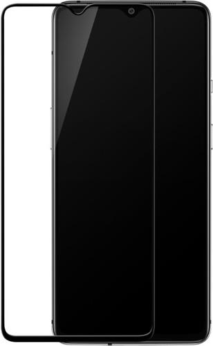 OnePlus 7T Protège-écran Verre trempé Noir Main Image