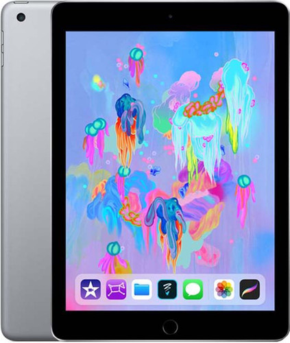 Apple iPad (2018) 128GB WiFi Space Gray Main Image