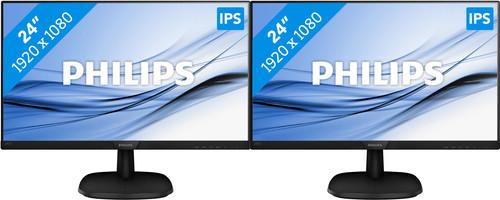 Philips 243V7QDAB Duo Setup Main Image