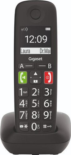 Gigaset E290M-HX Zwart Uitbreiding Main Image