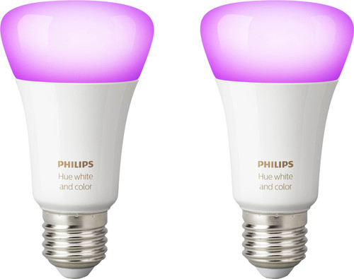 Philips Hue White and Color E27 Bluetooth Duo Pack Main Image