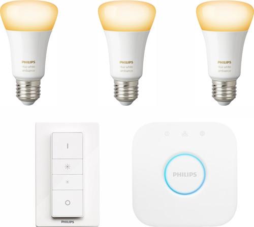Philips Hue White Ambiance E27 Kit de démarrage Main Image