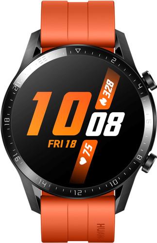 Huawei Watch GT 2 Zwart/Oranje 46mm Main Image
