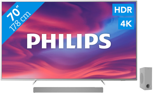 Philips The One (70PUS7304) - Ambilight + Soundbar Main Image