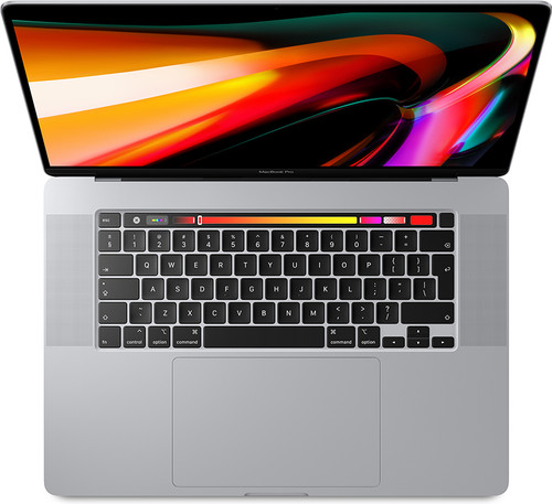"Apple MacBook Pro 16"" Touch Bar (2019) MVVM2FN/A Argent Azerty Main Image"