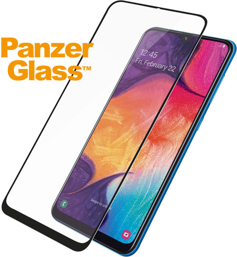 PanzerGlass Case Friendly Samsung Galaxy A50 Protège-écran Verre Main Image