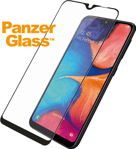 PanzerGlass Protège-écran Case Friendly Samsung Galaxy A20e Verre Noir Main Image