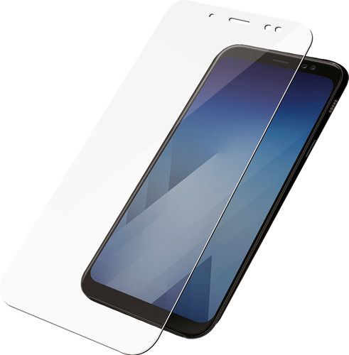 PanzerGlass Samsung Galaxy A6 (2018) Protège-écran Verre Noir Main Image