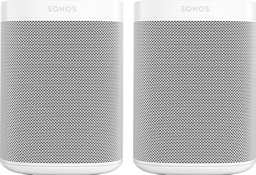 Sonos One + One SL Wit Main Image