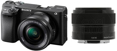 Sony Alpha A6400 + E PZ 16-50mm f/3.5-5.6 OSS + 35mm f/1.8 Main Image