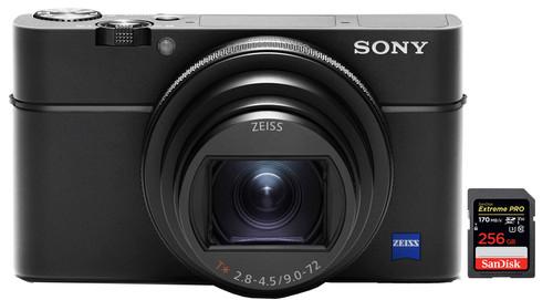 Sony Cybershot DSC-RX100 VI + SanDisk 256 GB Geheugenkaart Main Image