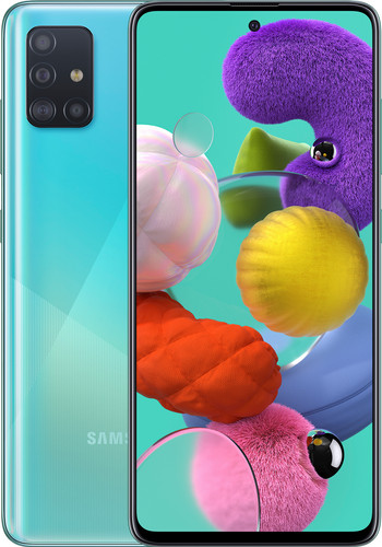 Samsung Galaxy A71 128 Go Bleu