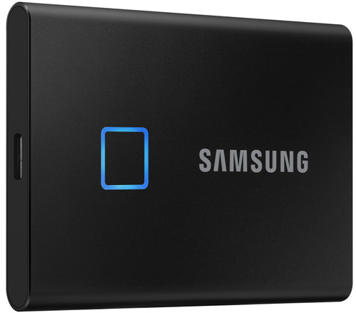Samsung T7 Touch Portable SSD 1TB Zwart Main Image
