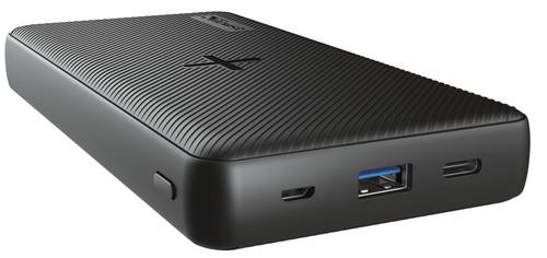 Trust Mobile Primo Batterie Externe Sans Fil 20 000 mAh Noir Main Image