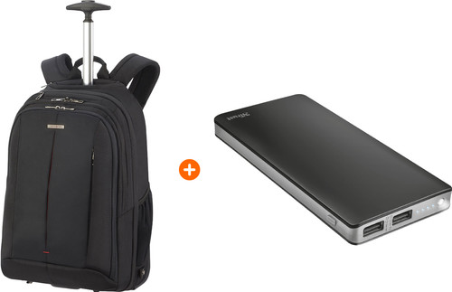 Samsonite GuardIt 2.0 15'' Black + Trust Primo Thin Powerban Main Image