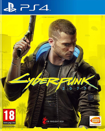 Cyberpunk 2077: Day One Edition PS4 & PS5 Main Image