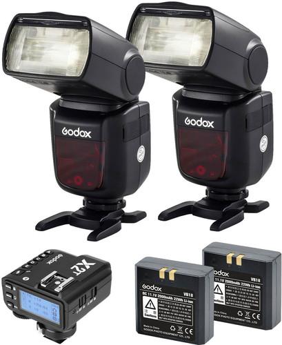 Godox Speedlite V860II Olympus/Panasonic Duo X2 Trigger Kit Main Image
