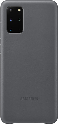 Samsung Galaxy S20 Plus Back Cover Leer Grijs Main Image