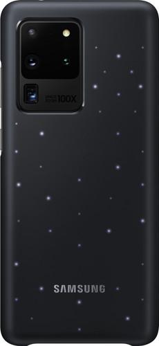 Samsung Galaxy S20 Ultra Led Back Cover Zwart Main Image
