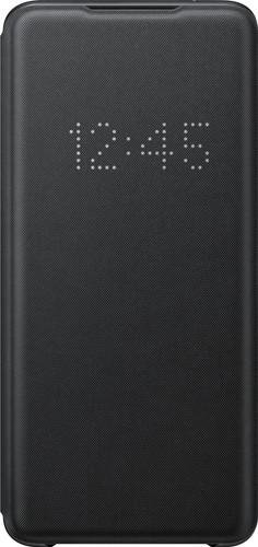 Samsung Galaxy S20 Ultra Led View Book Case Zwart Main Image