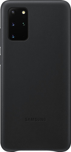 Samsung Galaxy S20 Plus Back Cover Leer Zwart Main Image