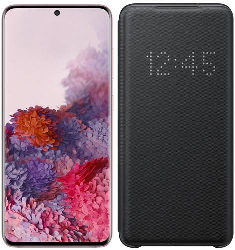 Samsung Galaxy S20 128 Go Rose 4G + Samsung Étui LED View Noir
