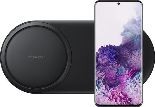 Samsung Galaxy S20 Plus 128 Go Noir 4G + Samsung Chargeur Sans fil DUO Pad Noir