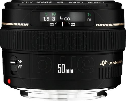 Canon EF 50 mm f/1.4 USM Main Image