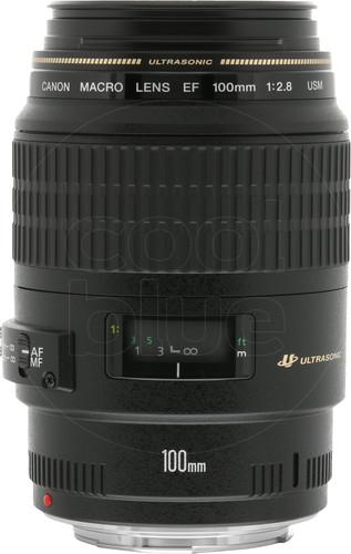 Canon EF 100mm f/2.8 Macro USM Main Image