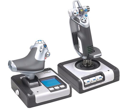 Saitek X52 Flight Control System Main Image