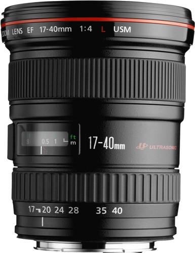 Canon EF 17-40 mm f/4.0L USM Main Image