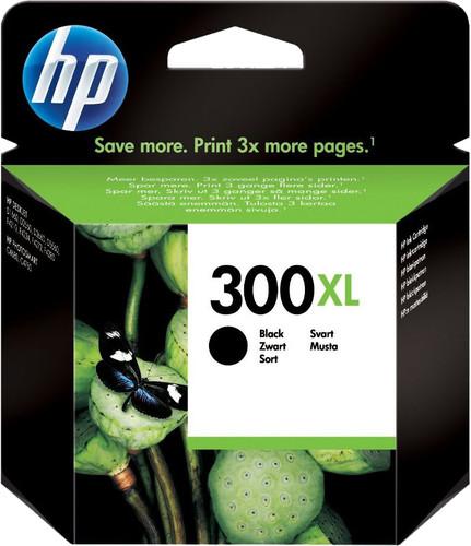 HP 300XL Cartridge Zwart Main Image