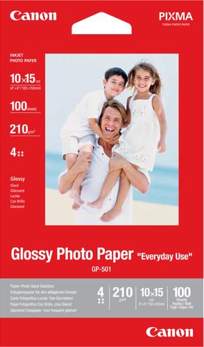Canon GP-501 Glossy Photo Paper 100 Sheets 10x15cm Main Image