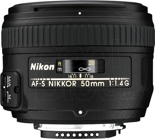 Nikon AF-S 50 mm f/1.4G Main Image