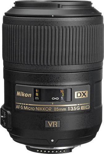 Nikon AF-S 85 mm f/3.5G ED VR DX Micro Main Image