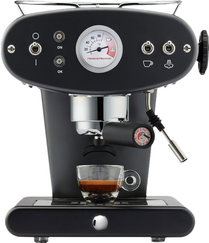 Illy X1 Ground Black Main Image