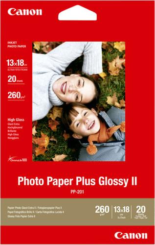 Canon PP-201 Papier photo brillant Plus 20 Feuilles 13 x 18 cm Main Image
