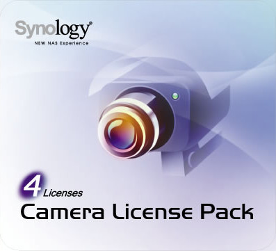 Synology Camera License 4 Pack Main Image