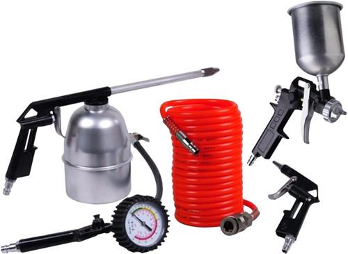 Ferm Compressor Luchtgereedschapset (5-delig) Main Image
