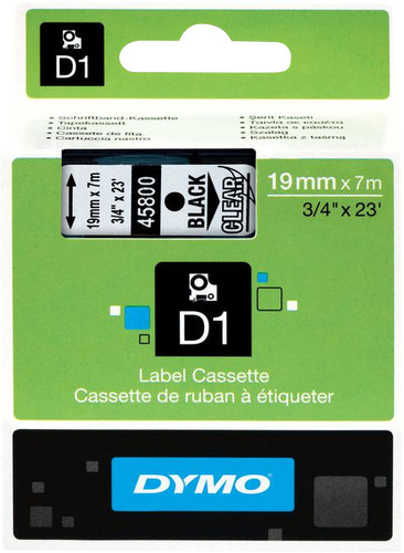 Dymo D1 Name Labels Black-White (24mm x 7 m) Main Image