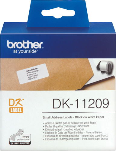 Brother DK-11209 Labels (29 x 62 mm) 1 Rol Main Image