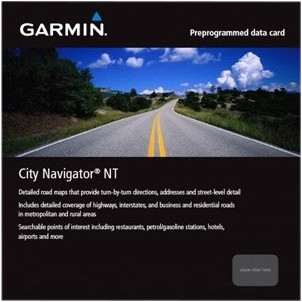 Garmin City Navigator NT Europe microSD / SD Main Image